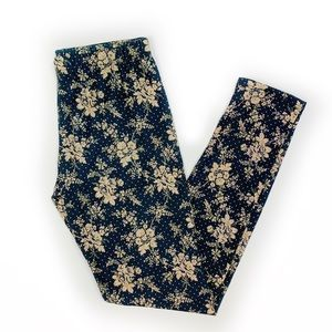 Urban Outfitters Floral Patterned Leggings
